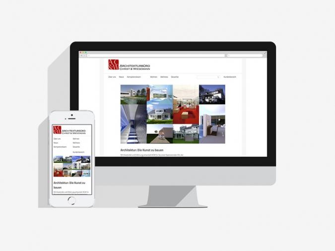 Architekten CMS Website