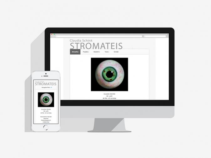 Künstler CMS Website